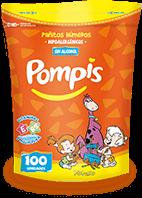 Pañitos Pompis Presentación 100 unidades